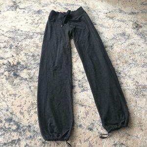 Lululemon warm-up track pants